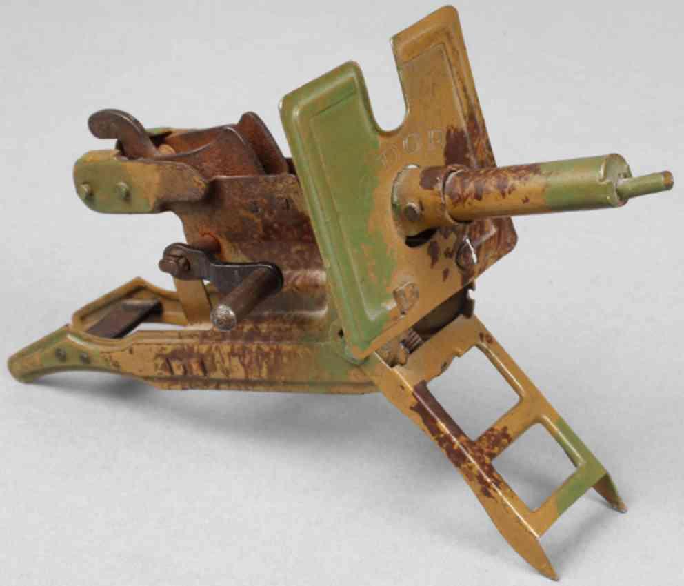 militaer spielzeug schnelllade-maschinengewehr edor m.i.germany