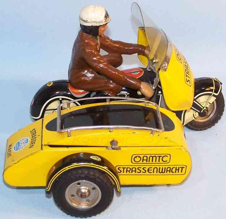 goeso blech motorrad oeamtc motorradgespann schwungrad fahrer