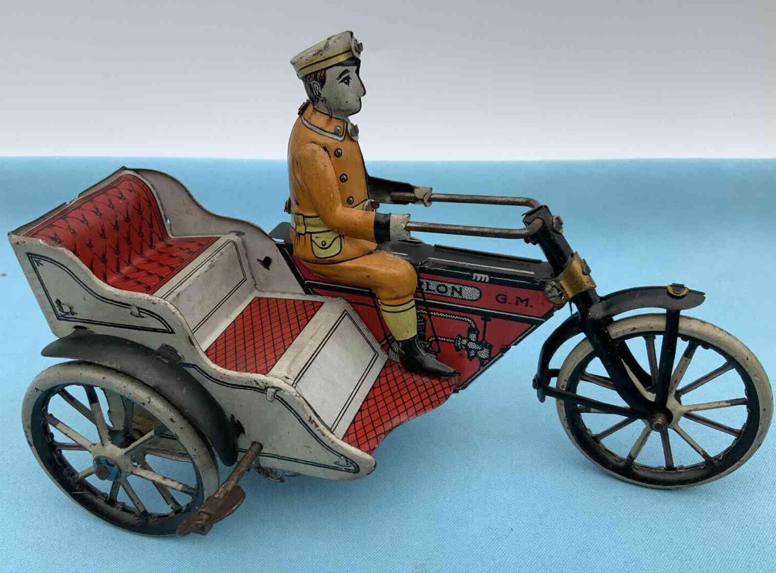 greppert & kelch 507/8 motorrad mit beiwagen