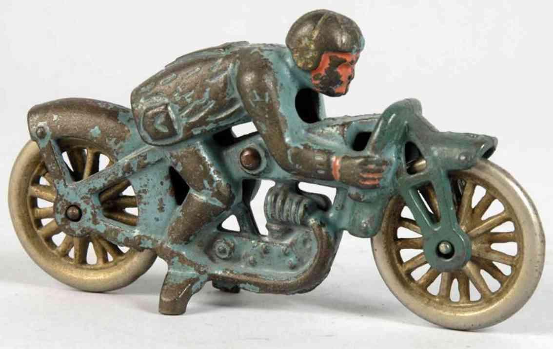 Hubley 7 Motorradfahrer