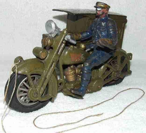 hubley gusseisen harley davidson motorrad  us paketpost