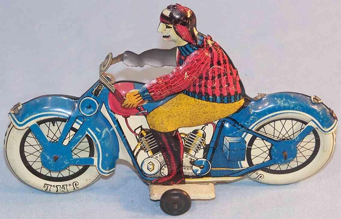 j.m.l. co blech spielzeug motorrad franzoesisches motorrad