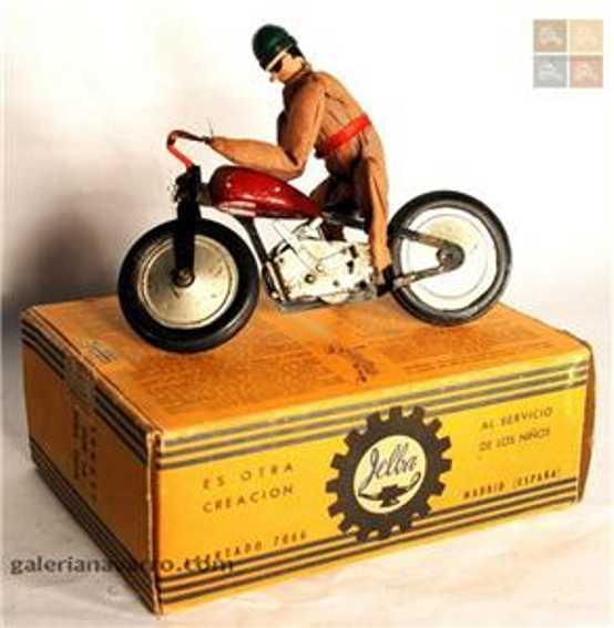 jelba blech spielzeug motorrad motorradfahrer
