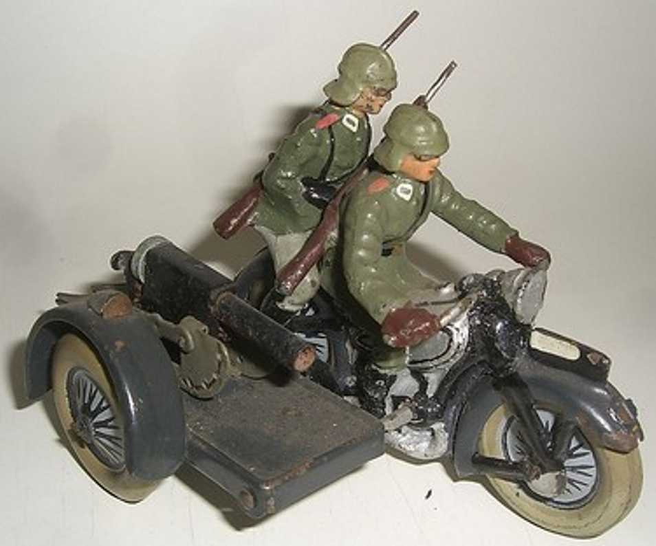 lineol tin toy motorcycle motorcycle