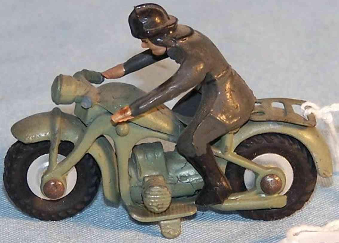 marklin tin toy motorcycle motorcyclist