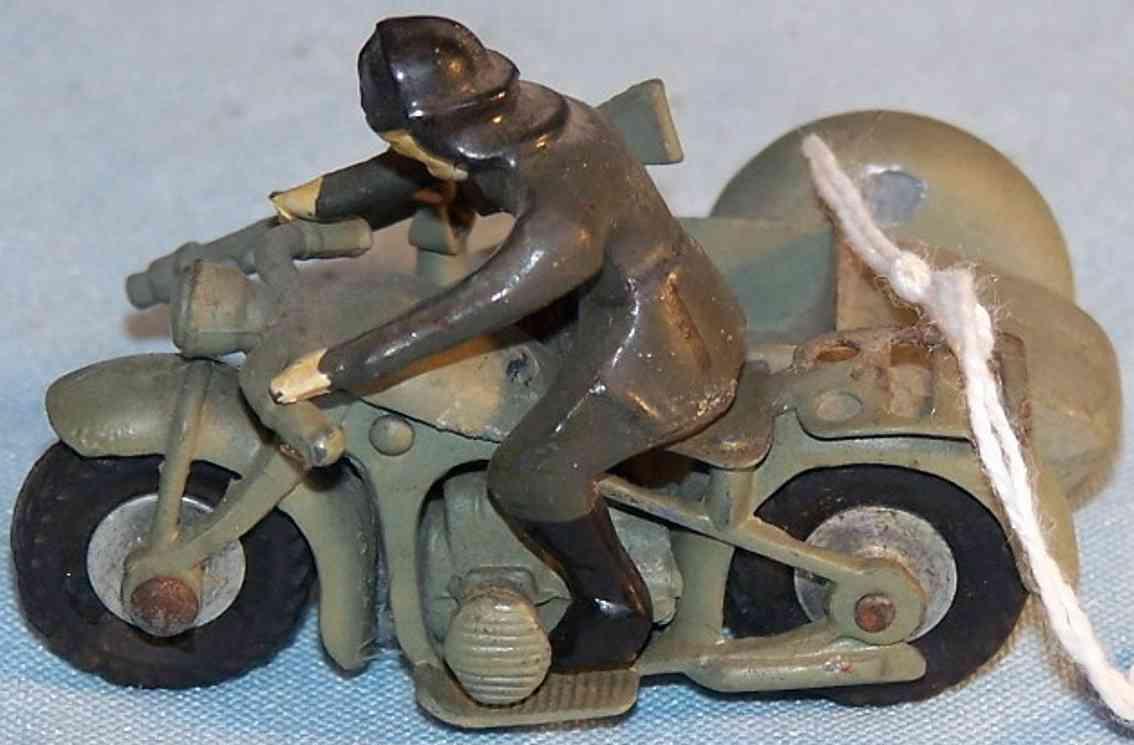 maerklin militaer spielzeug motord motorrad mit beiwagen