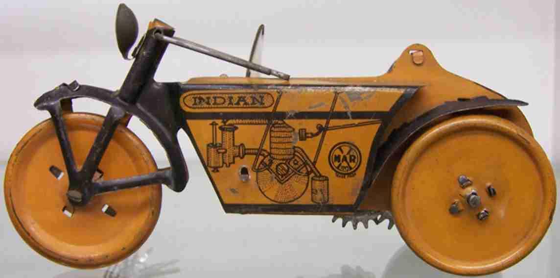 marx louis blech spielzeug indisches motorrad
