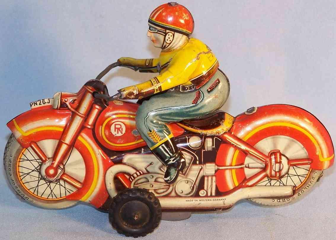 niedermeier philipp blech spielzeug motorrad pn 200 federwerk