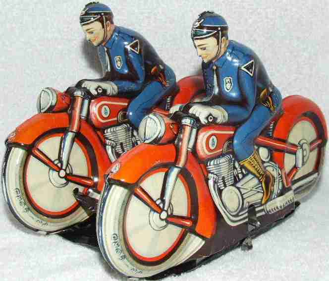 Niedermeier Philipp 220 Polizeimotorrad Synchron Fahrer