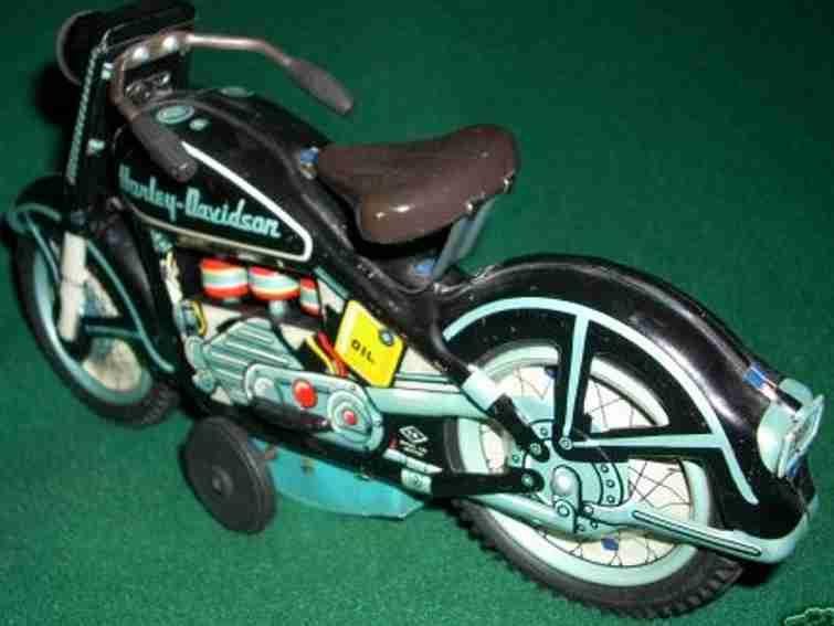 tn nomura toys blech spielzeug motorrad harley-davidson