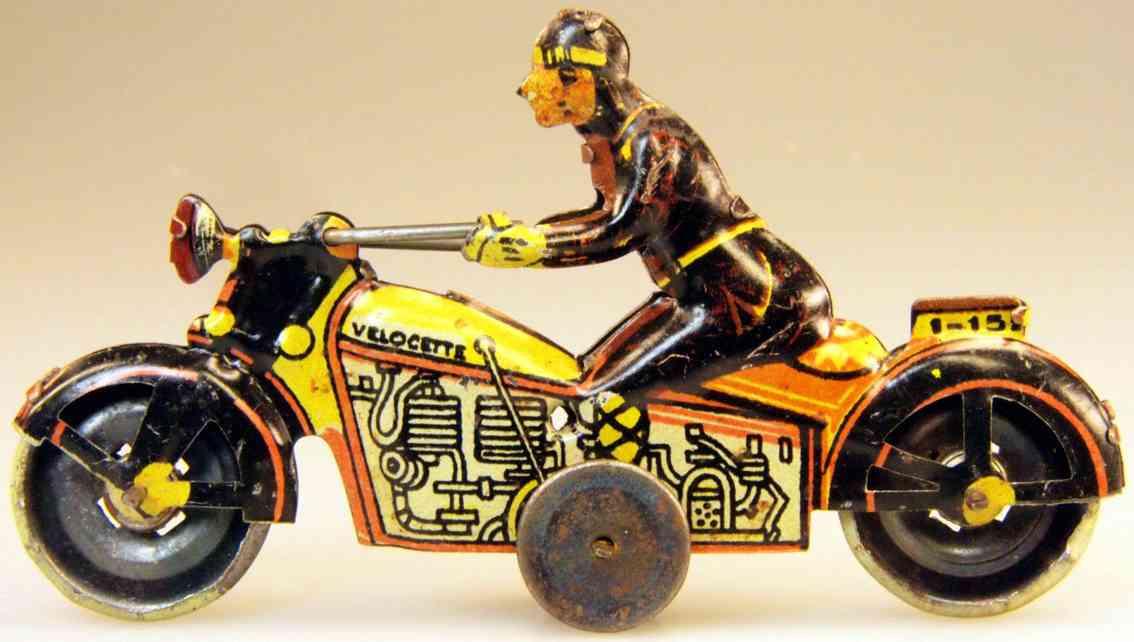 PAYA Motorradfahrer 1 - 152 Velocett