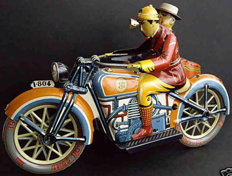 PAYA Motorrad mit Beiwagen