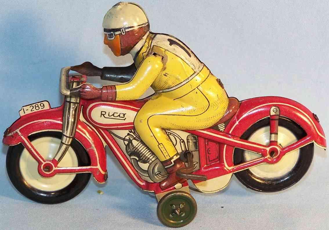 Rico 289 Motorradfahrer