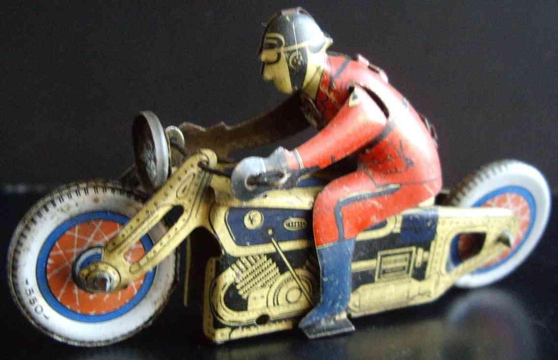 sfa blech spielzeug motorrad motorrad lithografiert