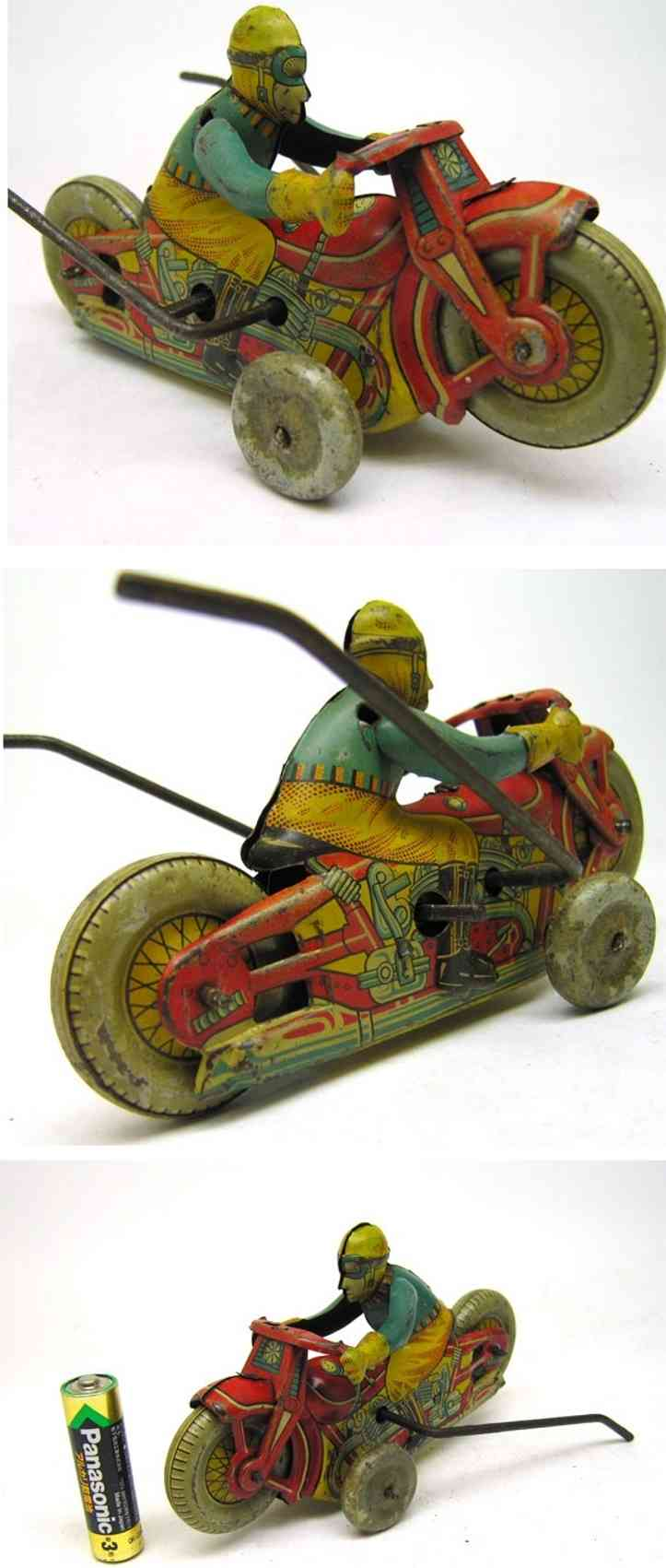 Showa Kogyo Showa Industry Motorcyle friction toy