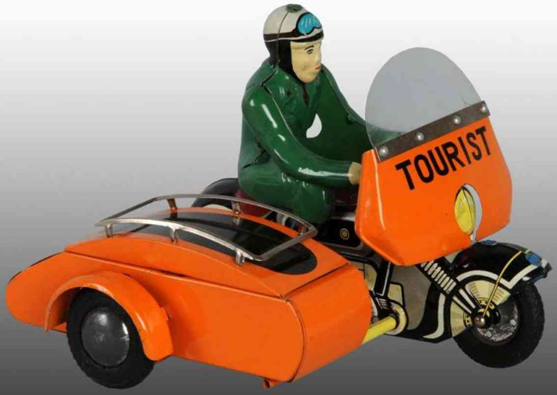 TPS Motorcycle with sidecar