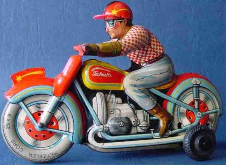 technofix 250 blech spielzeug kamel-motorrad