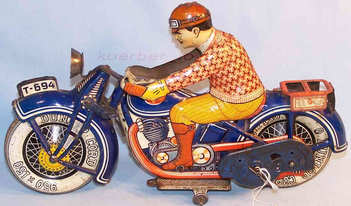 Tippco Motorcycle marked T-694