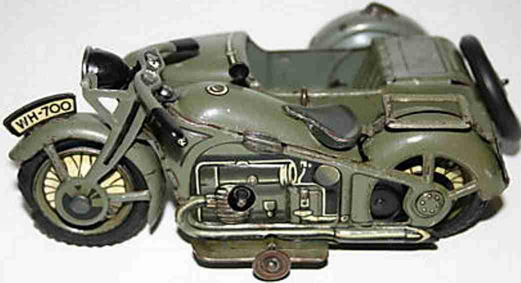Tippco 700 Motorcycle Sidecar
