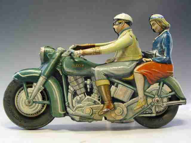 Tippco Motorradfahrer Harley Davidson