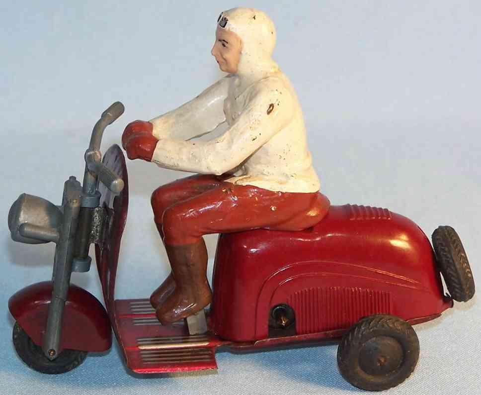 wimmer heinrich hwn lambretta tin toy motor scooter