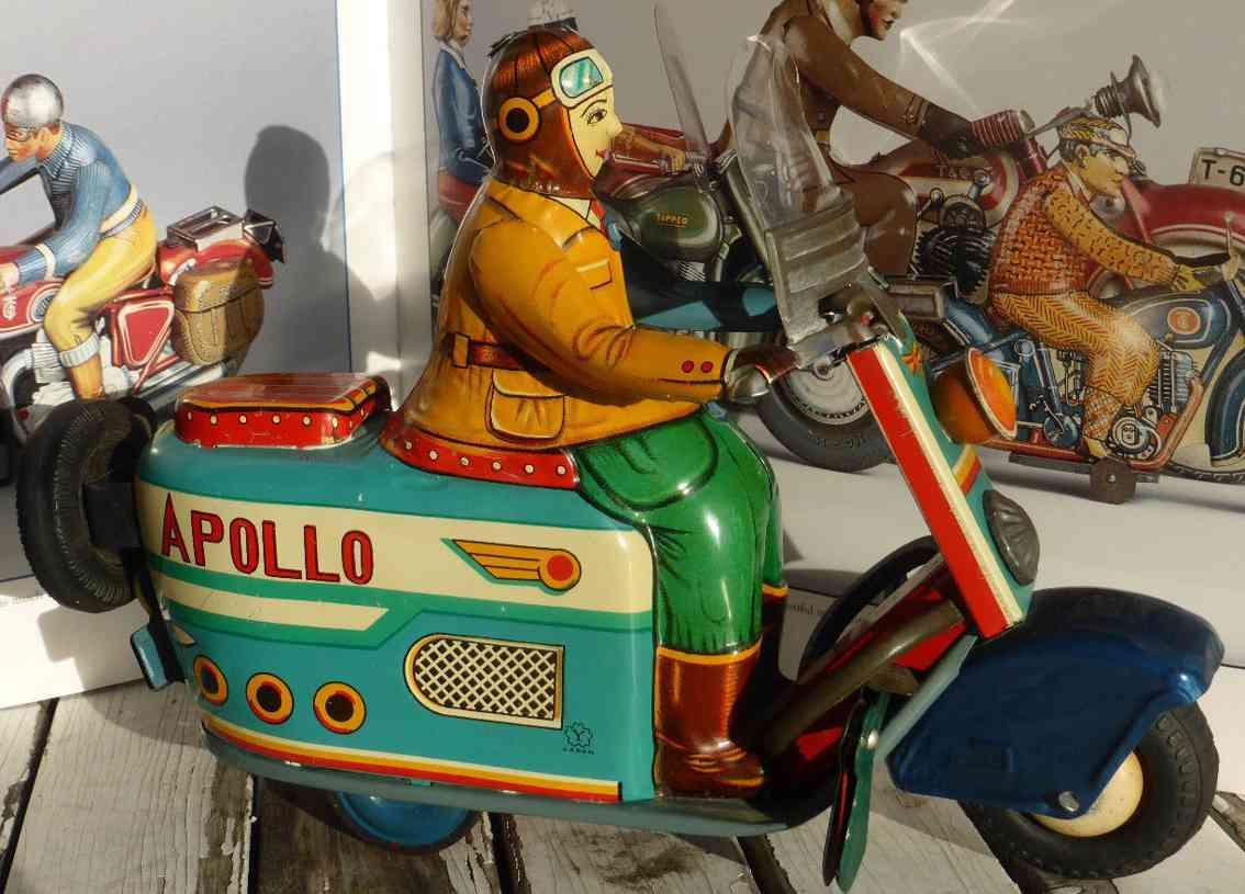 Yonezawa STS Apollo Vespa Roller Motorrad