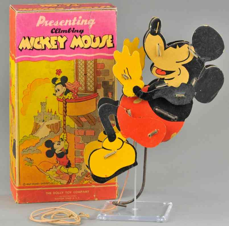 the dolly folding kite toy company yclimbing mickey mouse to