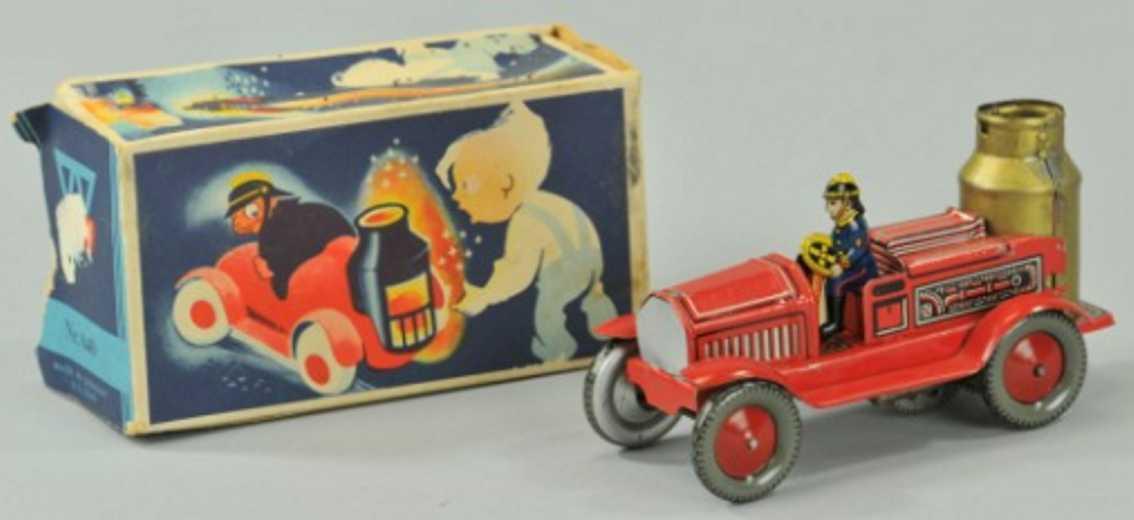 Arnold Penny Toy Feuerwehrpumpenwagen