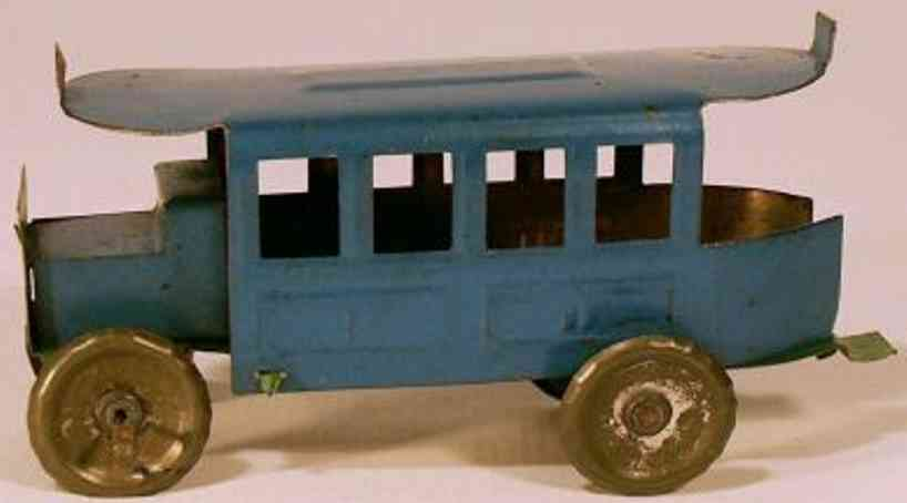 cp france penny toy paris bus, made in france