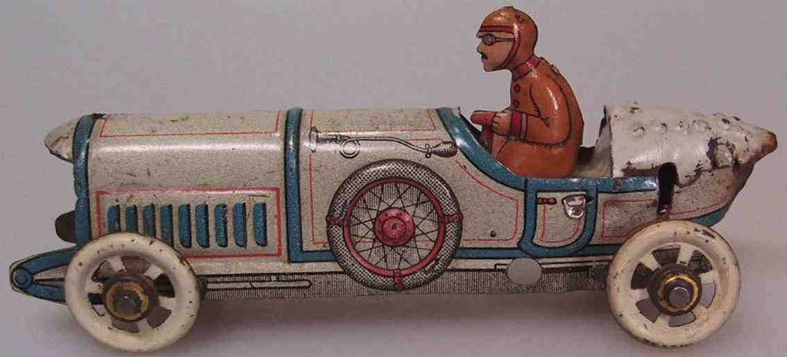 distler johann 214 penny toy rennwagen rennauto mit fahrer