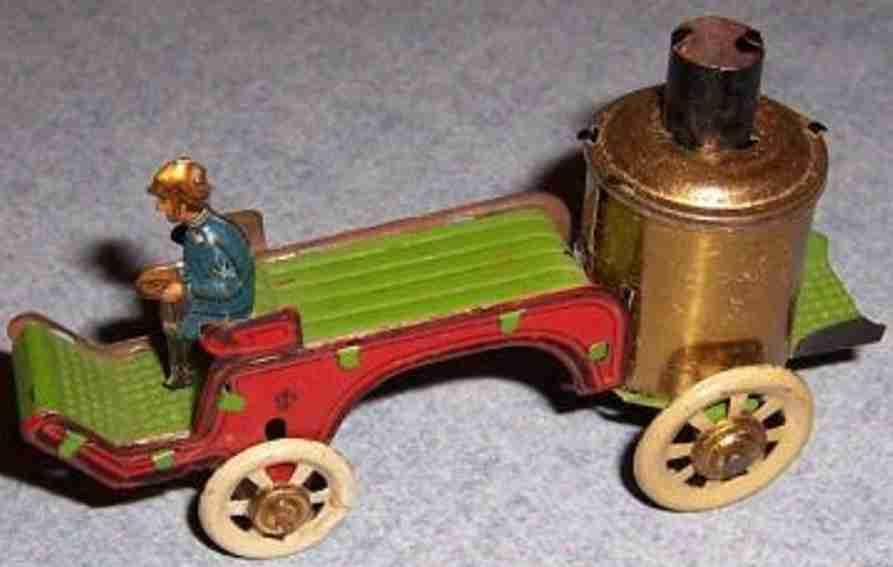 distler johann 30 penny toy fire toy car