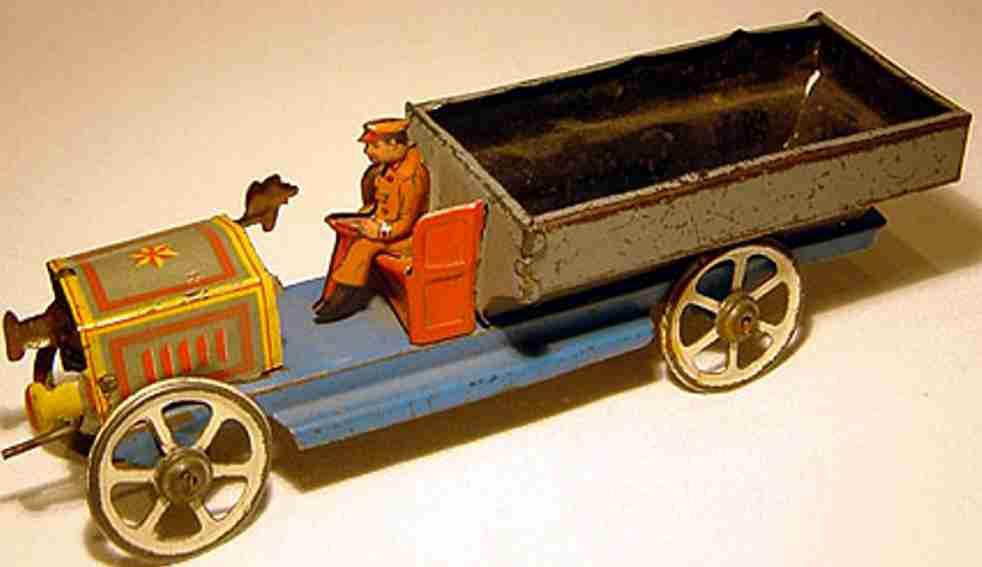 distler penny toy lastwagen vorne mit kurbel ohne uhrwerk