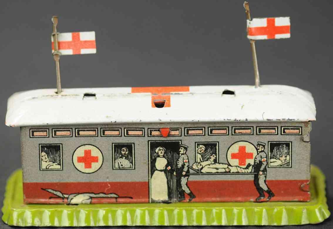 distler johann penny toy military hospital