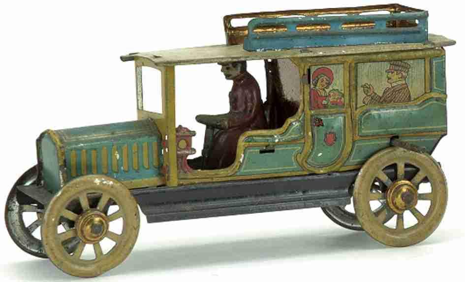 distler johann 121 limousine penny toy inertia saloon auto fahrer