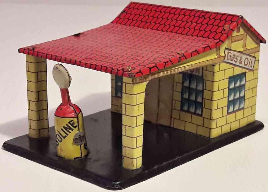 distler penny toy tankstelle blech vordach