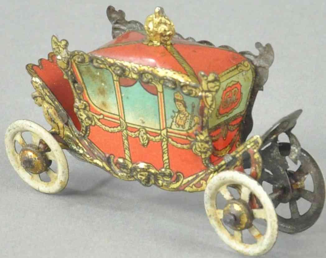 distler penny toy koengliche kutsche king george v queen mary