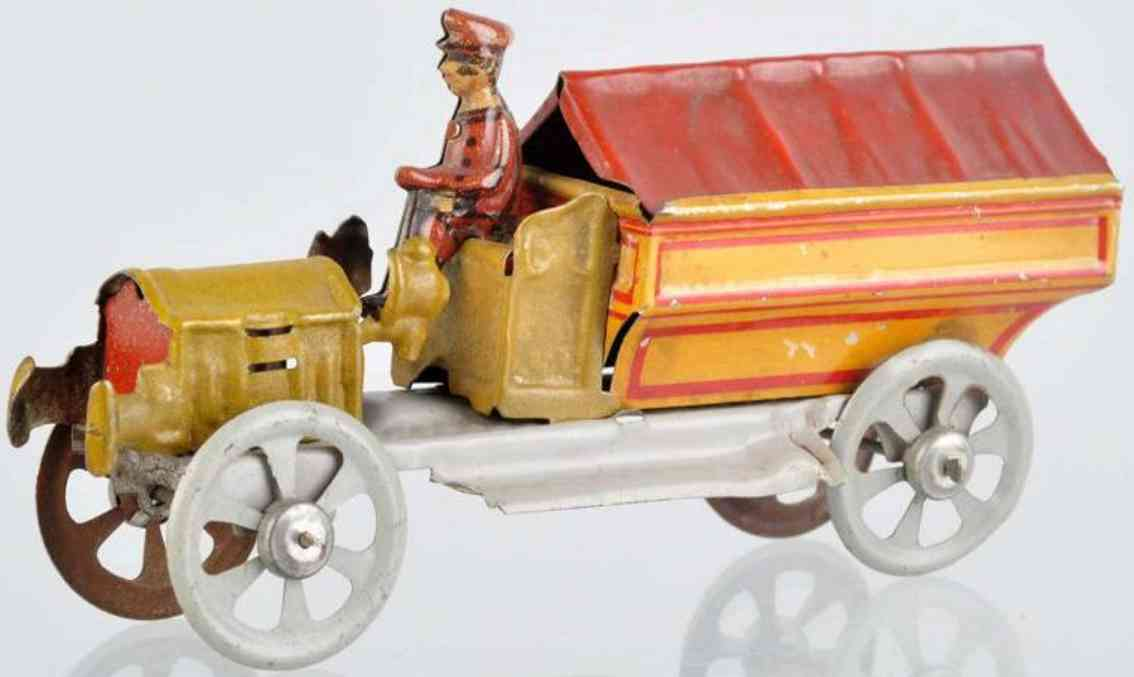 distler penny toy lastwagen mit plane und fahrer