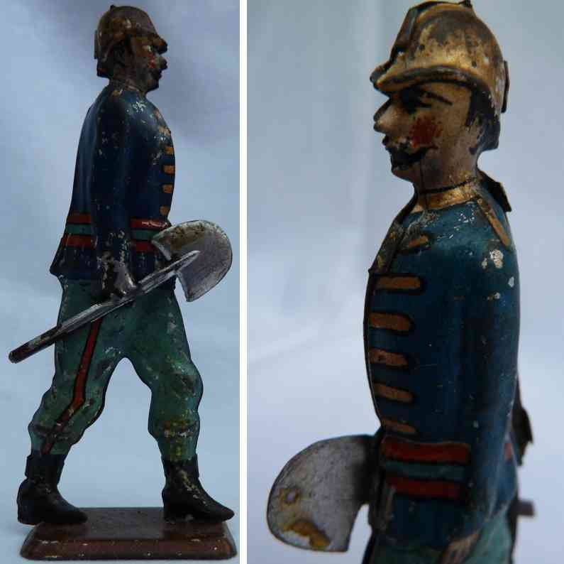 faivre jules edmond penny toy french fireman with shovel