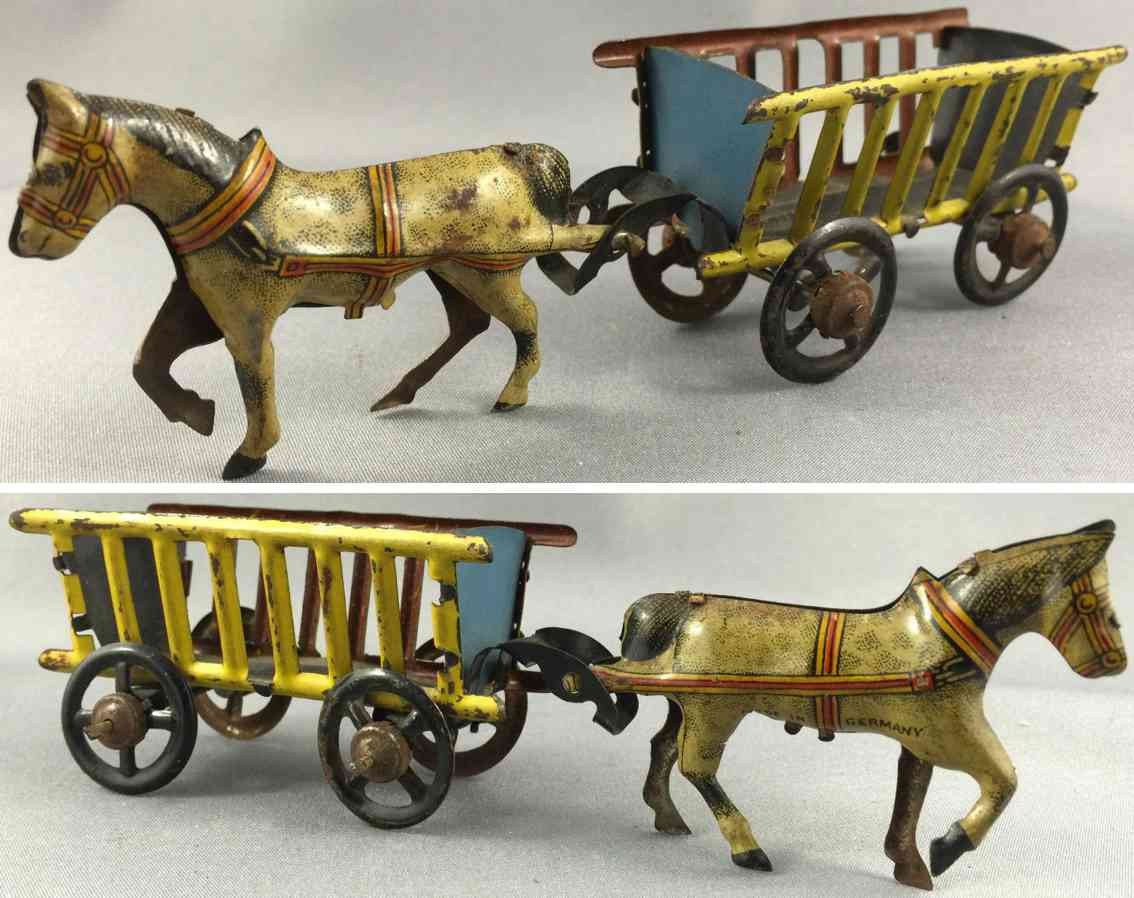 penny toy fischer georg pferd mit heukarre