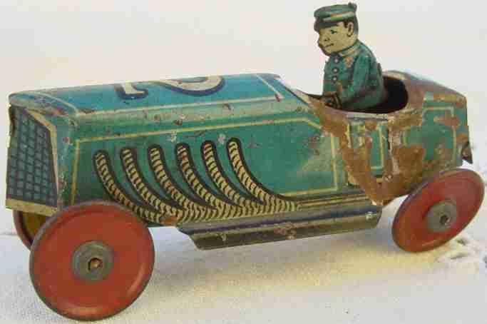 fischer georg rennauto penny toy rennwagen 2 uhrwerk