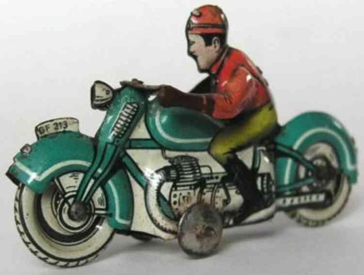 fischer georg 213 penny toy motorrad
