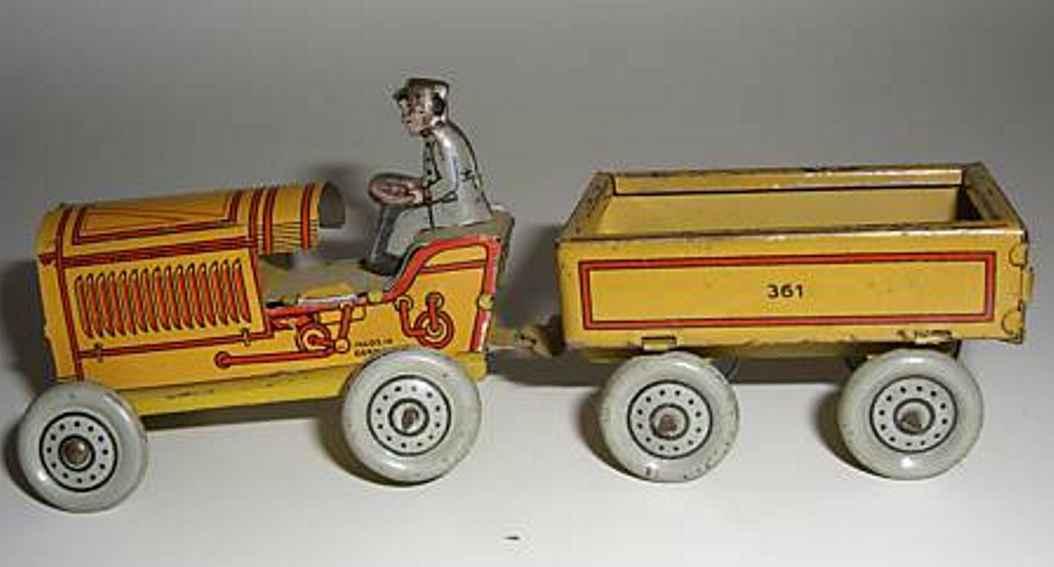 fischer georg 361 penny toy traktor