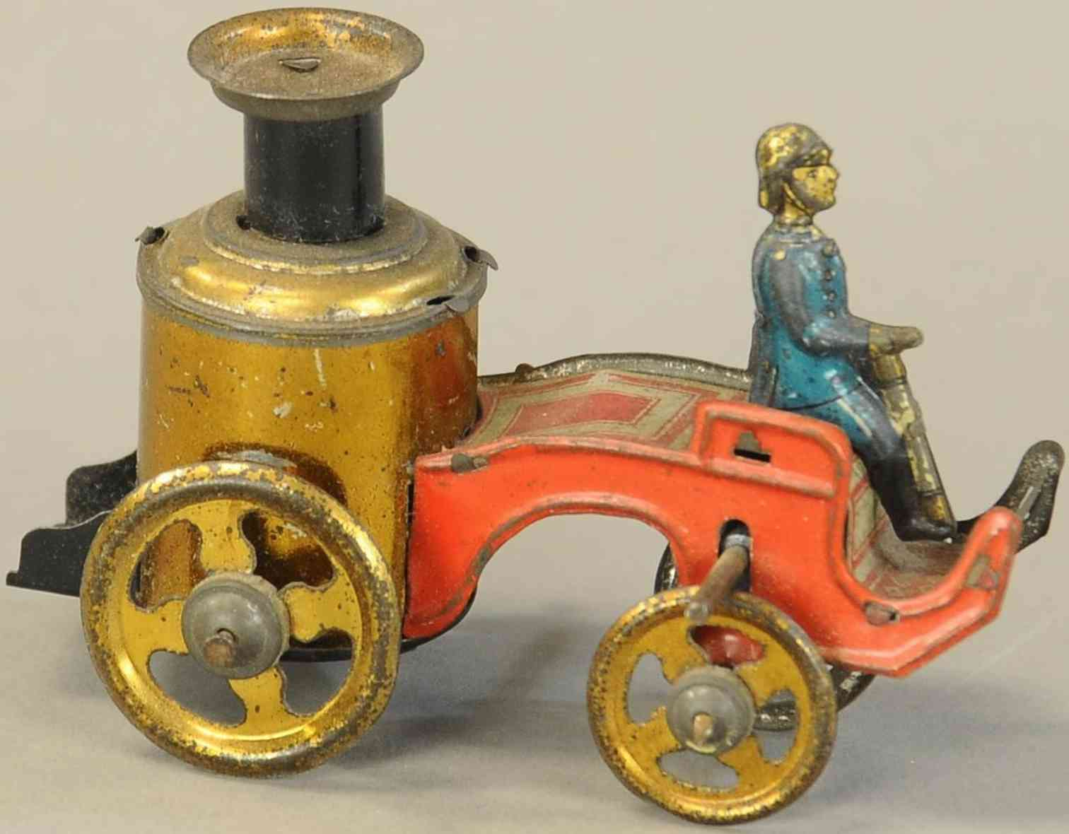 fischer georg penny toy feuerwehrkesselwagen mit fahrer
