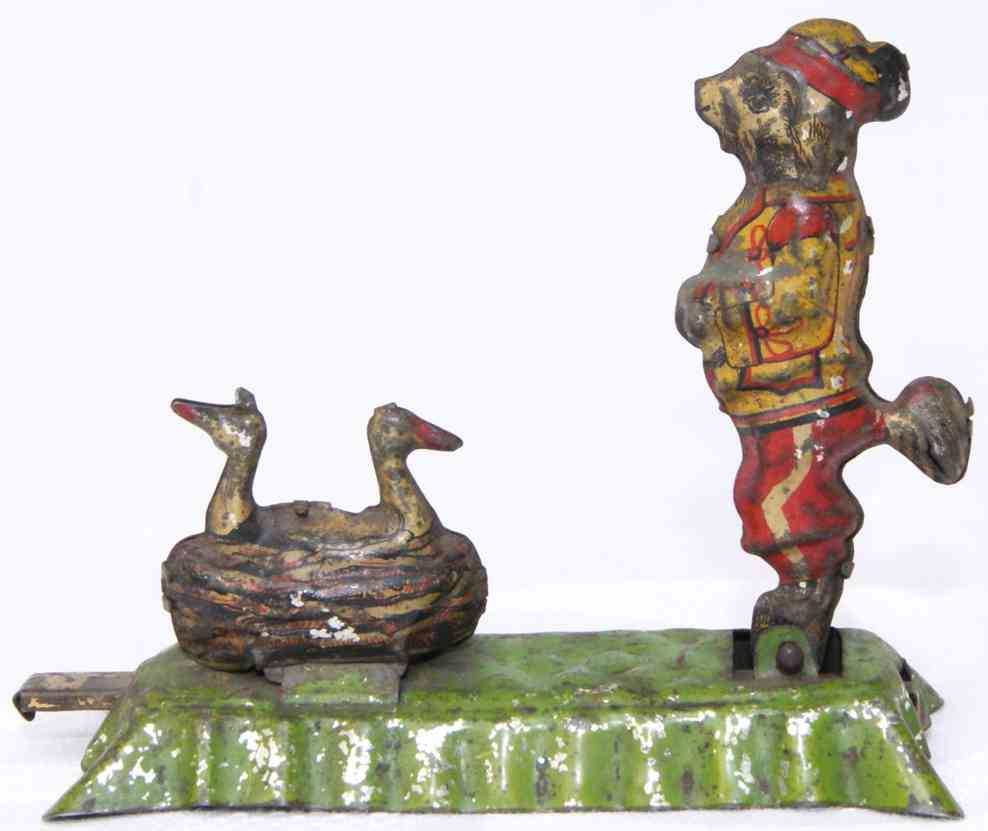 fischer georg penny toy hund zirkusuniform storchennest