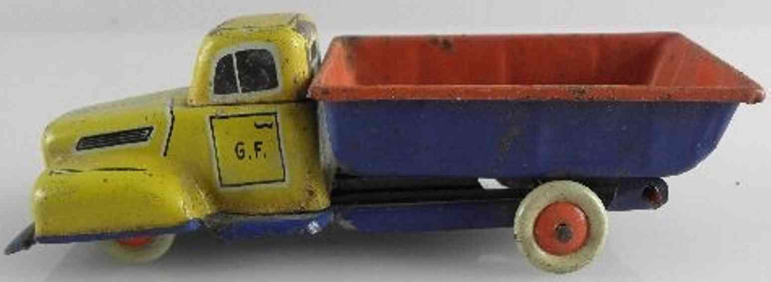 Fischer Georg Penny Toy Lastwagen