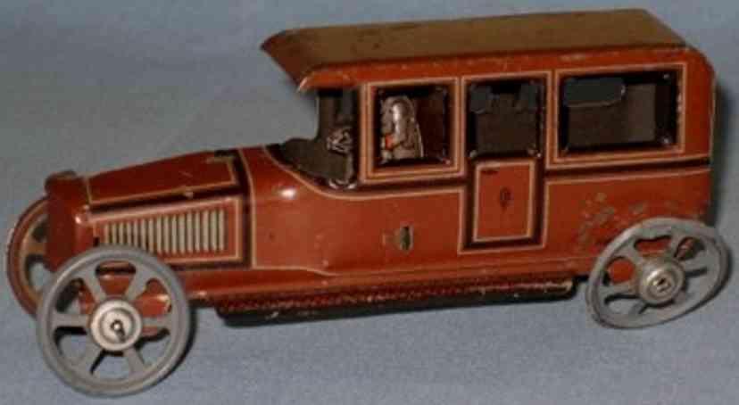 fischer georg penny toy limousine  fahrer