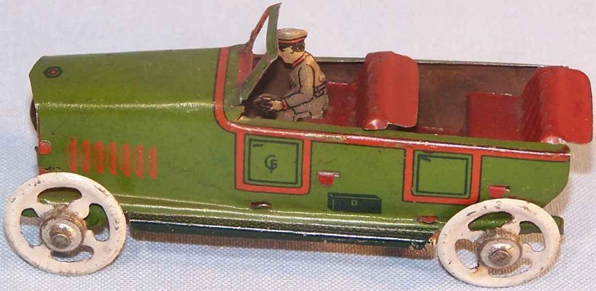 fischer georg penny toy limousine cabrio