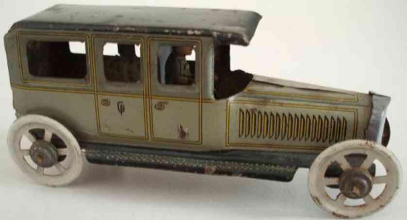 fischer georg limousine penny toy auto mit fahrer