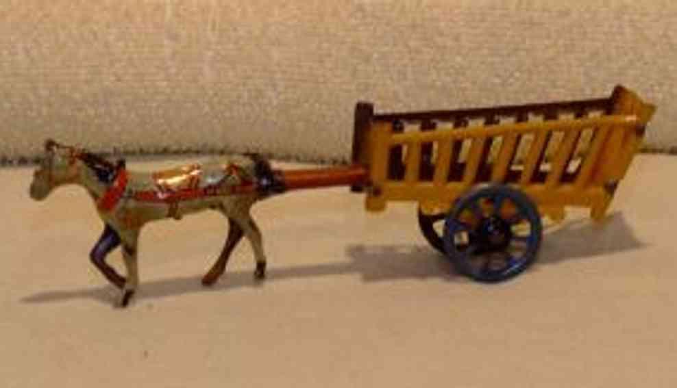 Fischer Georg Penny Toy Pferdekarre