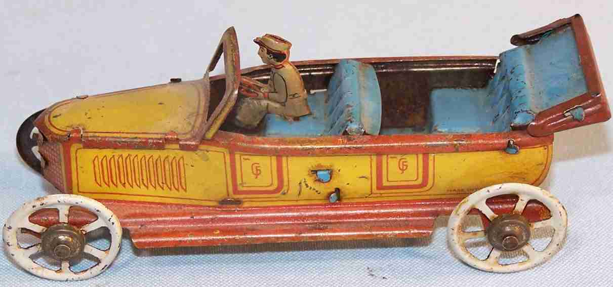 fischer georg penny toy limousine cabriolet